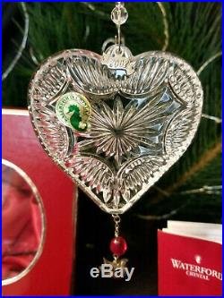 Waterford Crystal 2008 Twelve Days of Christmas 2 Turtle Doves Ornament Mint Box