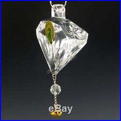 Waterford Crystal 2011 5 Gold Ring Ornament 12 Days of Xmas Five Golden 5th Ed