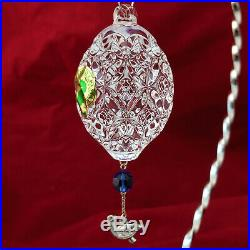 Waterford Crystal 2012 Six GEESE A Laying Egg Ornament 12 Days of Xmas 6 6th Ed