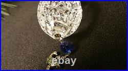 Waterford Crystal 2012 Twelve Days of Christmas 6 Geese-A-Laying Ornament Mint