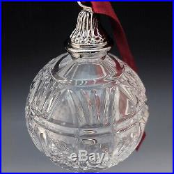 Waterford Crystal 2015 Times Square Ball Xmas Ornament MIB Gift of Fortitude