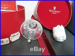 Waterford Crystal 9 Ladies Dancing Bell Ornament 12 Days of Christmas Mint / Box