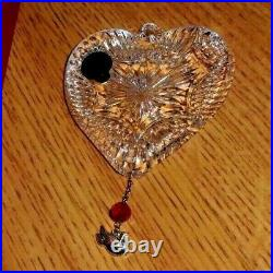 Waterford Crystal Annual 2008 TURTLE Dove Ornament Charm 12 Days of Xmas