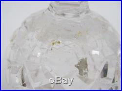 Waterford Crystal Christmas Tree Topper Ornament In Original Box