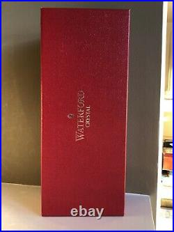 Waterford Crystal Clarendon Ruby Red Christmas Tree Topper Star Ornament withBox