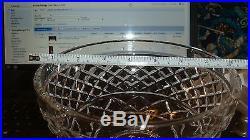 Waterford Crystal Large Bowl no mono