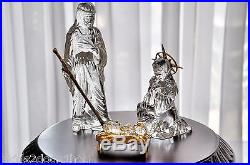 Waterford Crystal Millennium Christmas Holy Family Nativity Mary Joseph Jesus