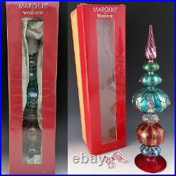 Waterford Crystal NEW Marquis 15 1/2 VENETIAN Grande Tree Topper Carnivale Star