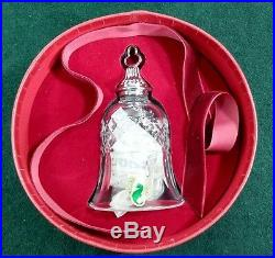 Waterford Crystal Ornament 12Days of Xmas Eight 8MAIDS 8th Bell Tramore NIB(O12)