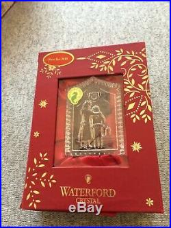 Waterford Crystal Ornament Lot Twas the NIght before Christmas 8 Ornaments NIB