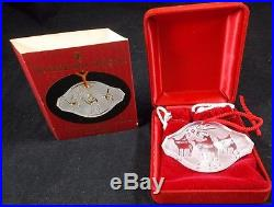 Waterford Crystal Songs of Christmas Ornament 2000 O Holy Night A+ CONDITION
