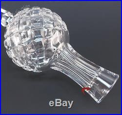 Waterford Crystal Tree Top Topper Xmas Ornament Star Ireland Made Earlier Mark