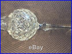 Waterford Cut Crystal Christmas Tree Topper Comeragh 10-1/2 withBox MINT