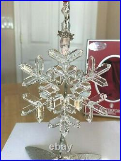 Waterford Snow Crystals 2006 Annual Snowflake Snow Flake Ornament Mib