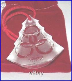 Waterford Twelve Days of Christmas 5 Golden Rings Ornament 1999